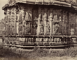 Temple at Belloor. Detached building in the Court. [Chennakeshava Temple, Belur.]